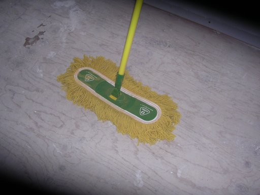 Dry dust mop for How to mop concrete floor