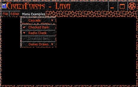 CrazyForms lava style